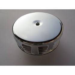 Luftfilter Chrom 75 mm hoch